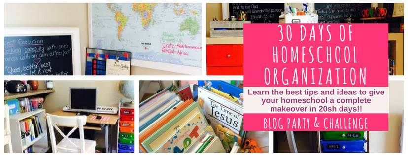 30 Days of Homeschool Organization