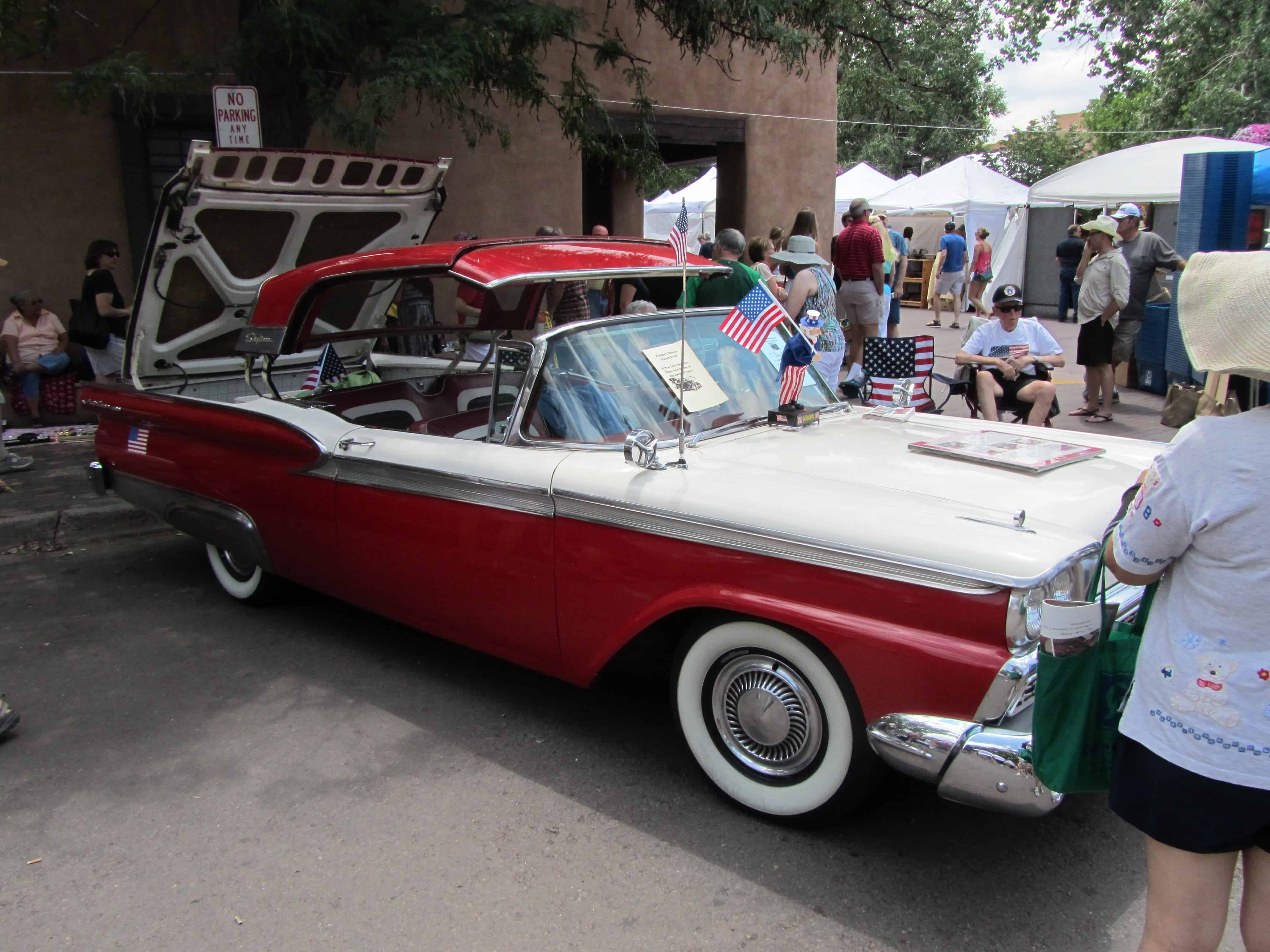 Fourth of July, Santa Fe Style - The Musings of the Big Red Car