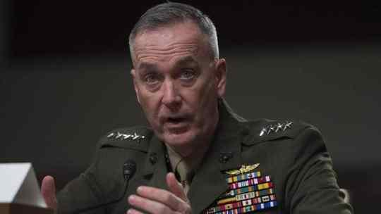 USMC commandant Gen Dunford