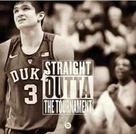 Duke loses