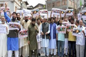 JRL protests against Kulgam civilian killings