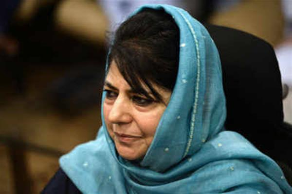 Way to peace passes through Jammu and Kashmir: Mehbooba Mufti
