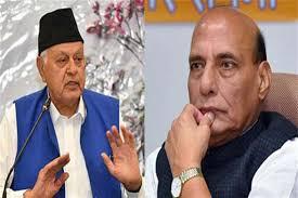 Dr Farooq meets Rajnath, shares concern over Bhatindi incident
