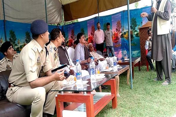Advisor Kumar visits Karnah