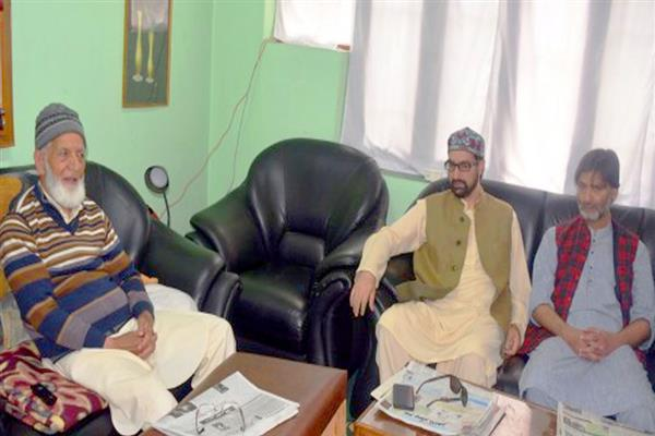 JRL calls shutdown in Kashmir on December 10