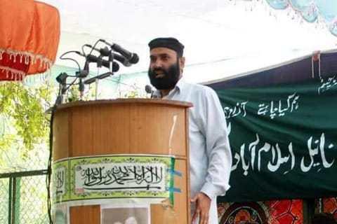 Tehreek-e-Hurriyat district president Anantnag Hafizullah Mir shot dead