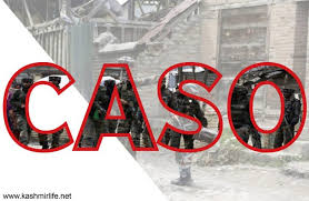 Forces launch CASO in Tral village