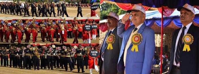 Advisor Sharma attends closing ceremony of   All India Police Band Competition-2018
