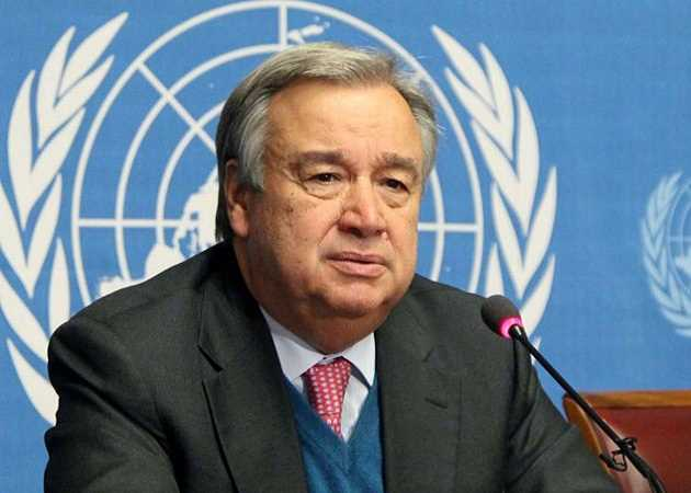 Human rights are losing ground in the world: UN chief