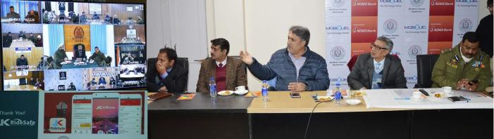 Navin chairs Road Safety Fund Management Committee meeting