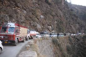 One-way traffic allowed from Srinagar to Jammu on JK highway