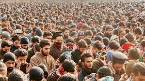 Handwara gunfight: Thousands attended funeral prayers of slain LeT militant in Sopore