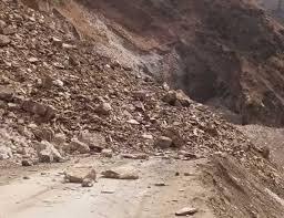 Highway closed after fresh landslides