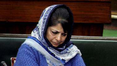 Mehbooba Mufti once again not allowed to move out of her residence