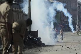 Lok Sabha polls : Firing on protestors in Budgam, 3 injured