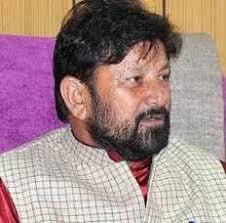 Former minister Lal Singh detained en route to Kishtwar
