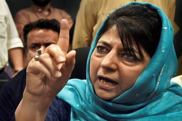 BJP creating fear psychosis among voters to win polls: Mehbooba