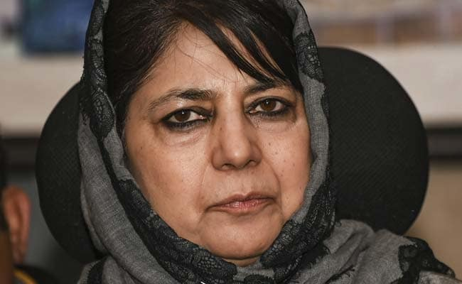 ED's move 'political vendetta': Mehbooba