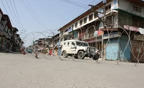 Shutdown against Zakir Musa's killing amid restrictions hits normal life in valley