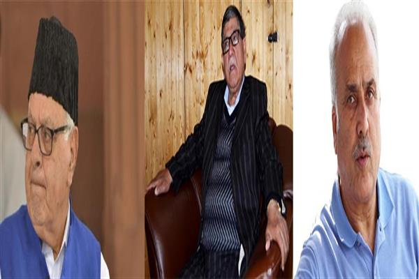 NC leads in all three seats in Kashmir