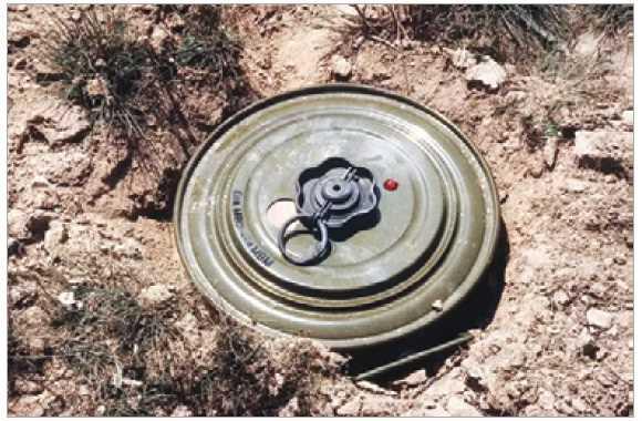 Anti-tank mine recovered in Samba district of Jammu and Kashmir