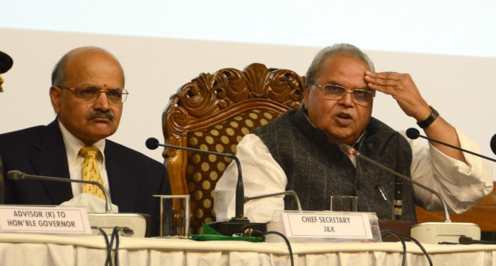 Guv Malik urges militants in JK to give up arms, invites them for talks