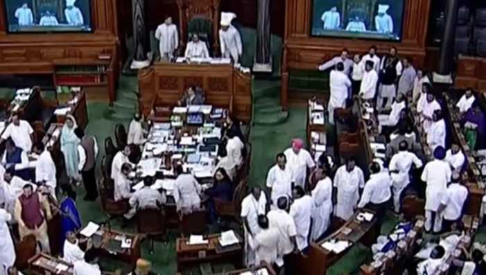 Cong raises Kashmir mediation issue in LS