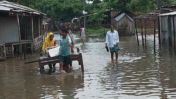 130 dead in Bihar floods, 88 lakh people affected