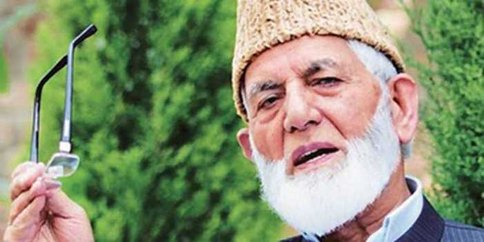Don't change status of J&K: Geelani to Pakistan