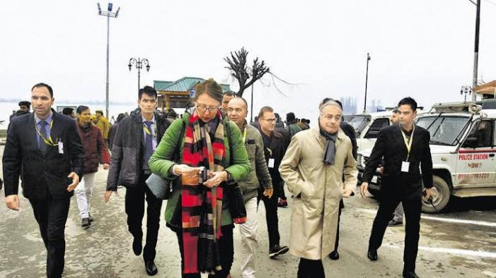"""Important To Lift Restrictions Swiftly"": EU Spokesperson After Kashmir Visit"