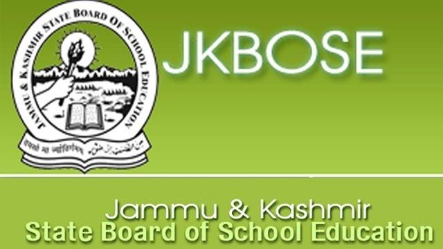 JKBOSE declares class 12 results