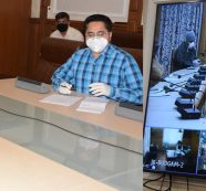 Advisor Baseer Khan exhorts PRIs, departments to work collectively for combating the Pandemic