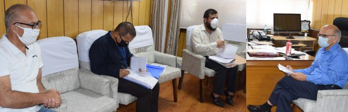 Interventions on to develop horticulture on big ticket basis in Jammu div: Advisor Sharma