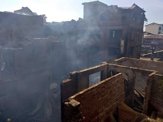 Raging Gunbattle In Srinagar Leaves Trail Of Destruction, Dozens Homeless