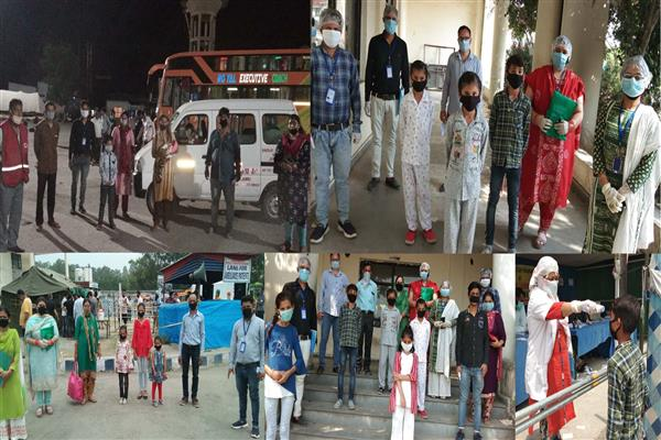 Covid-19 DCPU Kathua reunites 39 children, stuck in other states, with their families