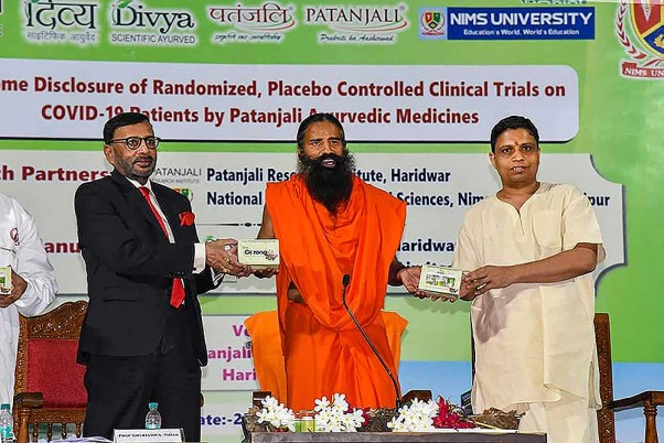 'Good That Ramdev Gave Medicine To Country': AYUSH Minister On Patanjali's Covid Drug Claims