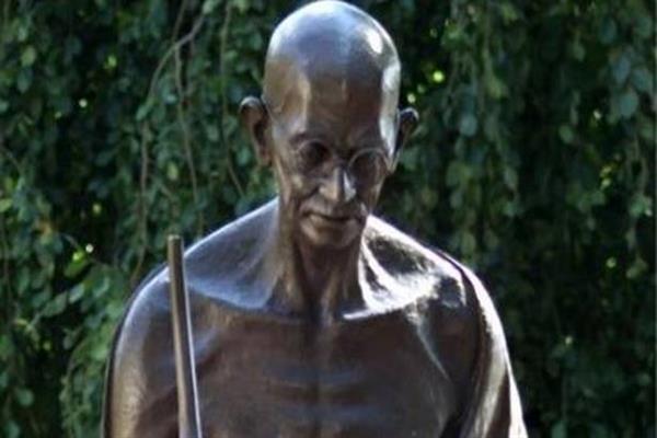 Gandhi's statue vandalised in US, Indian embassy registers complaint