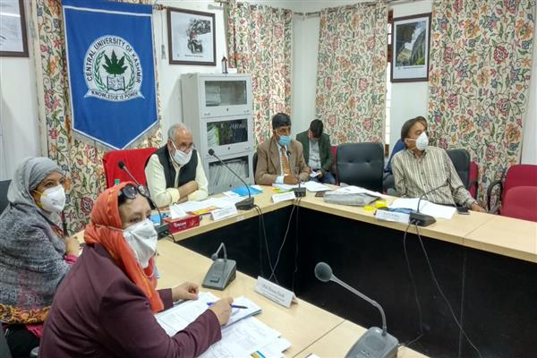 CUK holds 11th Academic Council, takes important decisions