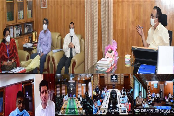 Navin Choudhary reviews finalization of new projects under NABARD