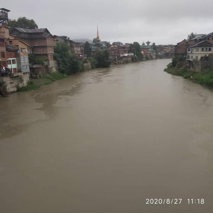 Incessant rains continue in most parts of J-K; no immediate threat of floods