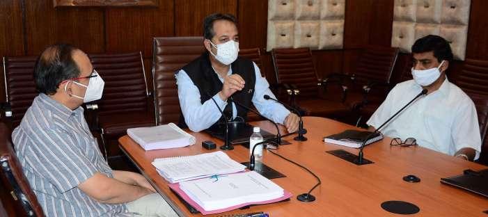 Advisor Baseer Khan chairs 75th BoD meeting of JKSPDC