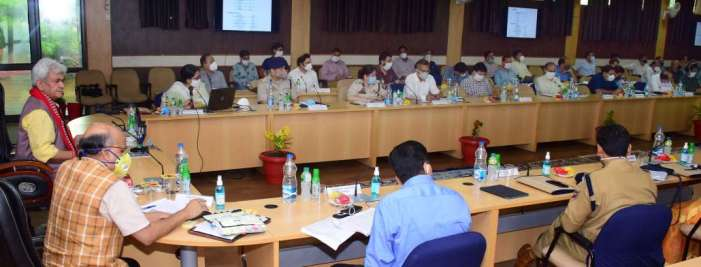 Lt Governor Visits Reasi; Reviews developmental scenario in the district