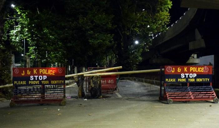 Politicians disallowed to meet over art-370; roads to Abdullah's Gupkar residence sealed