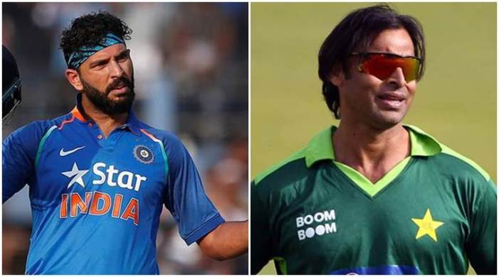 'I broke Yuvraj's back': Shoaib Akhtar recalls how he used to 'cross the line' while showing his affection
