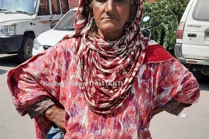Elderly woman from Sopore wants action against her husband, sons
