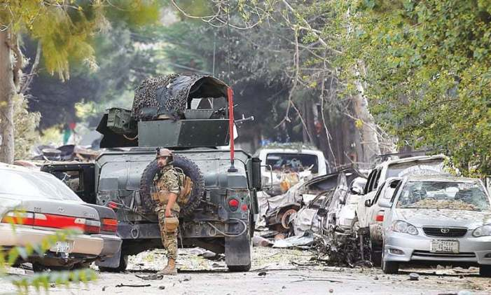 14 Afghan security men killed in clashes with Taliban