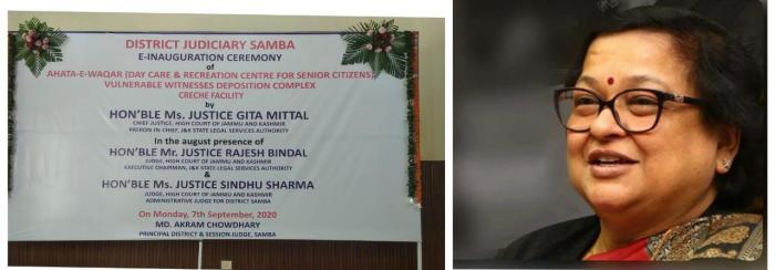 Chief Justice e-inaugurates Ahata-e-Waqar, Vulnerable Witnesses Deposition Complex, Creche facility at DCC Samba