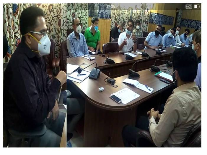 DDC reviews status of PMAY under Urban sector
