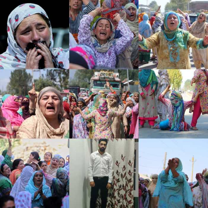"""Protests erupt in Sopore after 23-year old youth """"allegedly"""" killed in custody"""