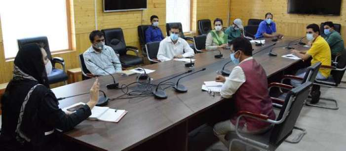 Dr Sehrish chairs preparatory meeting to discuss conduct of B2V-3 programme